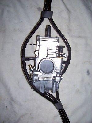 YAMAHA YZ125 1974-1993 YZ 125 CARBURETOR VENT HOSES CLAMPS MX BONZ WURX CARB KIT