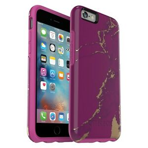 competitive price aa419 c2932 Details about Otterbox Symmetry Series Case for iPhone 6 and iPhone 6s -  Purple Marble