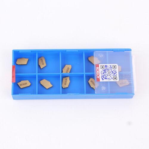 10pcs SP200 NC3020 ,2mm Grooving Cut-Off Carbide Inserts
