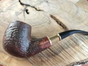 pipa Manelli bent spigot radica artigianale pipe Italy pfeife 537 gr.68 oz.2,4