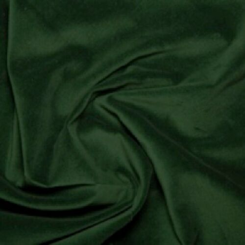 """112cm 7 Colours wide 44/"""" Premium 100/% Cotton Velvet Fabric Material"""
