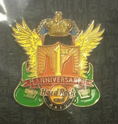 Hard Rock Cafe Baku 1st Anniversary Pin
