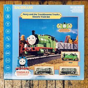 Percy-y-la-problematica-camiones-Conjunto-de-Tren-Electrico-De-Thomas-El-Tren-Raro