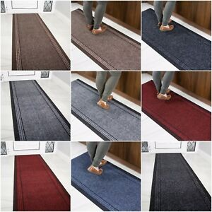 Image Is Loading Long Hall Runner Rugs Non Slip Narrow Heavy