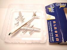 "Convair CV-990 ALASKA ""Golden Nugget Jet"" / N987AS, Gemini Jets in 1:400 boxed!"