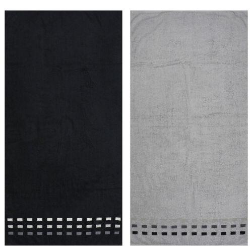 Frottier Handtuch 50x100 cm aus 100/% Baumwolle verschiedene Farben