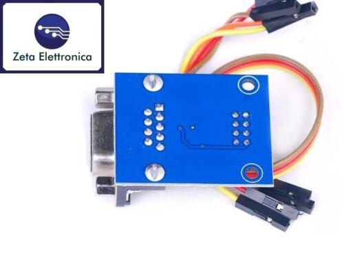 MODULO RS232 A TTL MAX232 CONVERTITORE SERIALE SHIELD SCHEDA PER ARDUINO