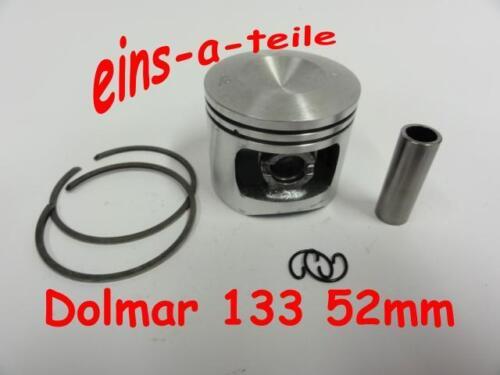 Kolben passend für Dolmar 133 52mm NEU Top Qualität