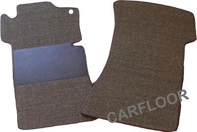 Für Mercedes  W113 Pagode 63-71 Fußmatten Velours  Deluxe hellbeige