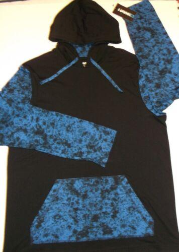 Tony Hawk Light Hoodie Sweatshirt~BLACK /& Blue~Skateboard~3 Sizes~FREE Shipping