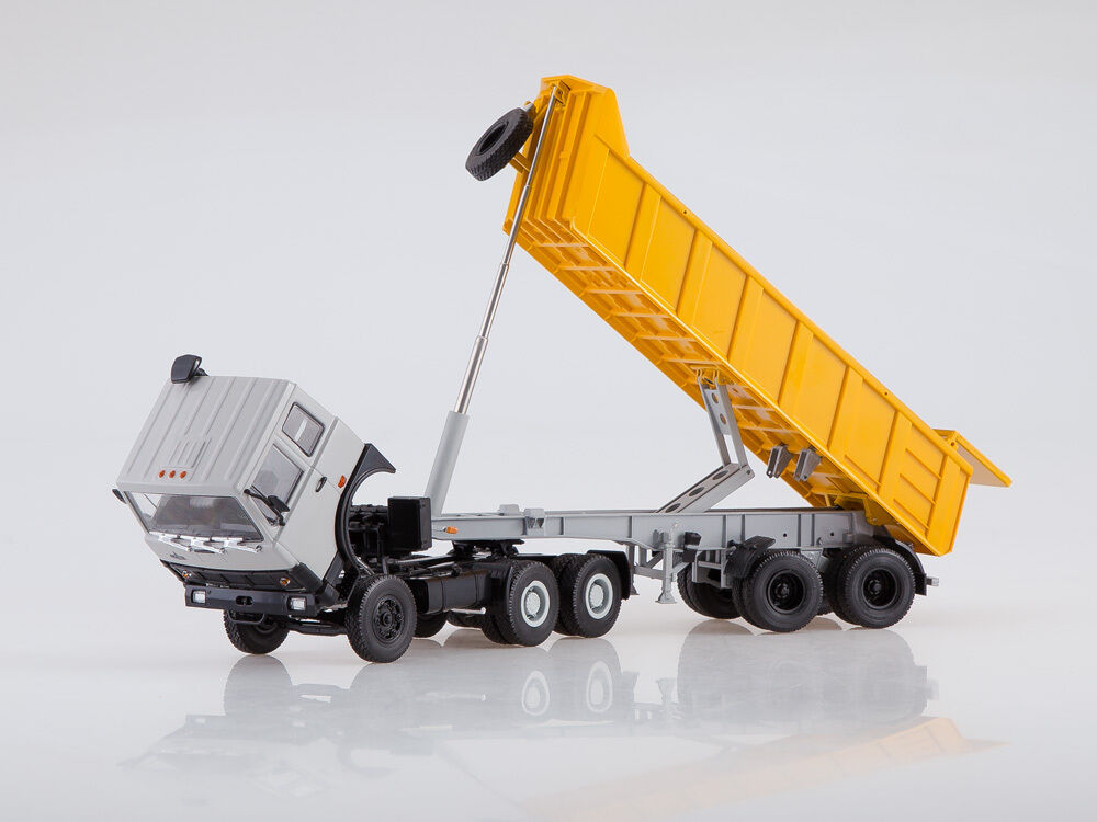 MAZ 6422 + semitrailer MAZ 9506-20 AIST 1 43