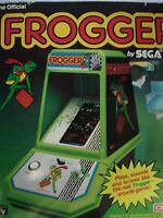 1980's Coleco Frogger In Box Mini Video Arcade Game Electronic