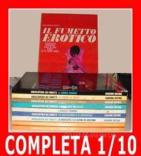 ENCICLOPEDIA DEI FUMETTI completa 1/10 SANSONI 1970