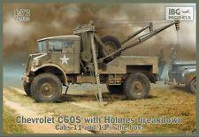 CAMION DE DEPANNAGE BRITANNIQUE CHEVROLET C60S - KIT IBG Models 1/72 n° 72032