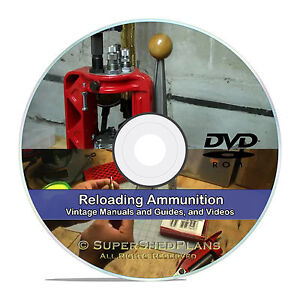 Details about Learn How To Reload Ammunition,  45 9mm,  223 Ammo Reloading  Books CD in PDF V22