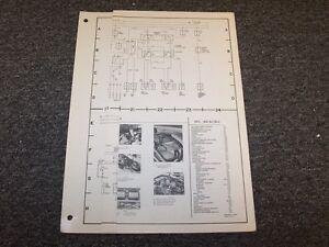 1975 mercedes benz 450sl 450slc original electrical wiring diagram rh ebay com