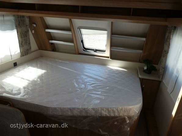 Hobby De Luxe 545 KMF, kg egenvægt 1340, kg totalvægt 1600