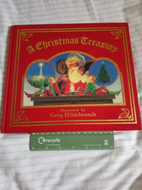 A Christmas Treasury Book Illustrated By Greg Hildebrandt
