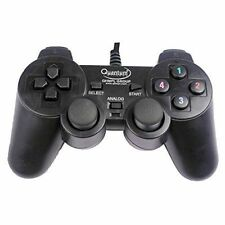 Original QUANTUM QHM7468 USB Vibration Game Pad Remote Joystick laptop Gamepad