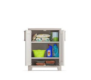 Armadio Salvaspazio In Plastica.Dettagli Su Armadio Da Esterno Salvaspazio In Plastica Kis Gulliver Low Cabinet