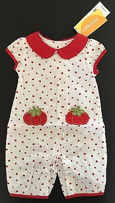 NWT Gymboree How Does Your Garden Grow 3-6 Months Tomato Sweater Hat