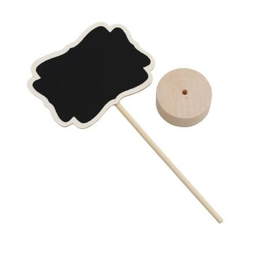 Mini Wooden Chalkboard Blackboard Message Table Number Wedding Party Decor SH