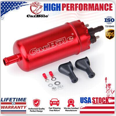 CarBole External Inline Universal EFI Electric High Pressure 125Psi Fuel Pump 0580464070