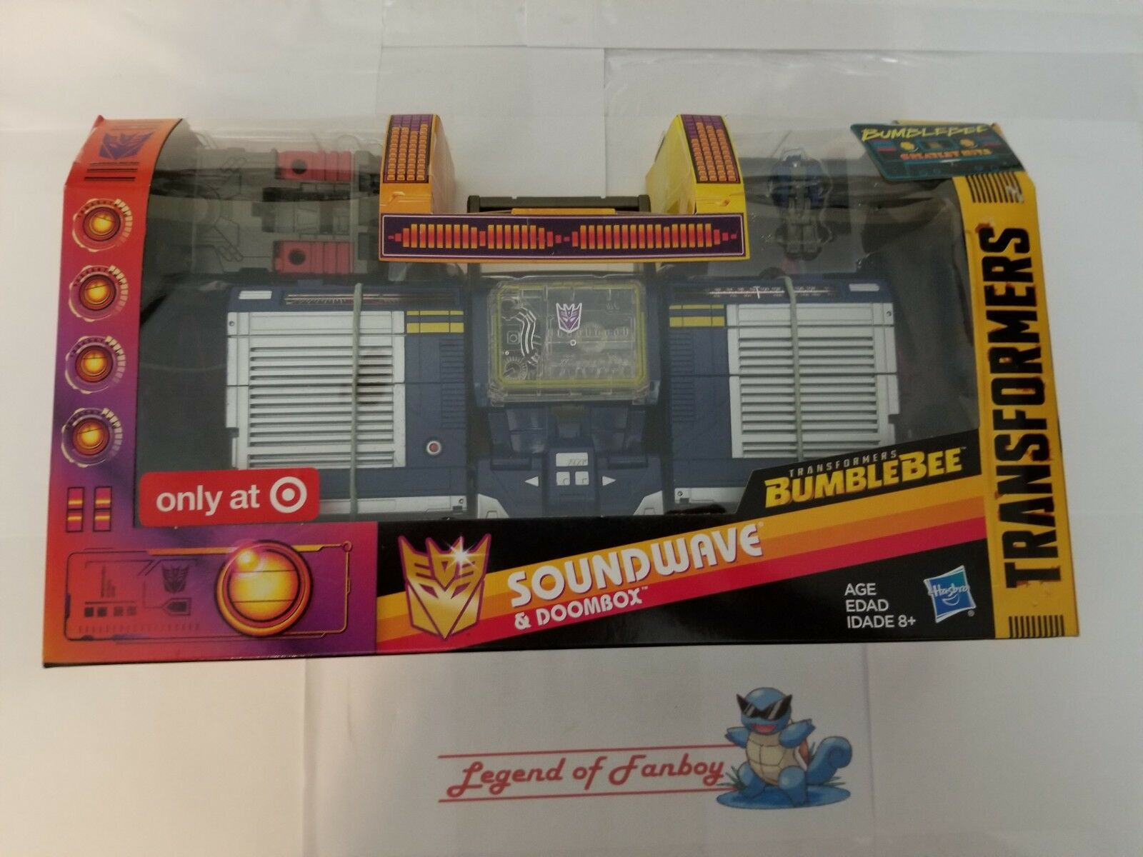 New   Transformers - Soundwave & Doombox - BumbleBee Greatest Hits