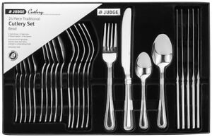 Judge-24-Piece-Beaded-Cutlery-Set-18-10-Stainless-Steel-Boxed-25-Year-Guarantee