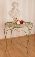 Gartentisch im Jugendstil Tisch Eisentisch Antik Stil Gartenmöbel