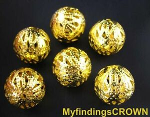 50-pcs-Gold-plated-filigree-spacer-beads-16mm-10297GP