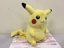 "16"" Nintendo Game Costume Bag Pokemon Pikachu Plush Doll Backpack Catch em All"
