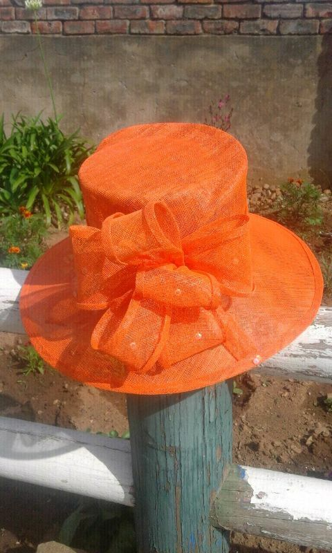 Sinamay and crin Church hats on sale and Hat making Training | Kuils
