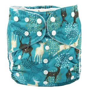 2-to-7-years-old-BIG-Cloth-Diaper-Nappy-Pocket-Reusable-Toddler-Junior-Deer
