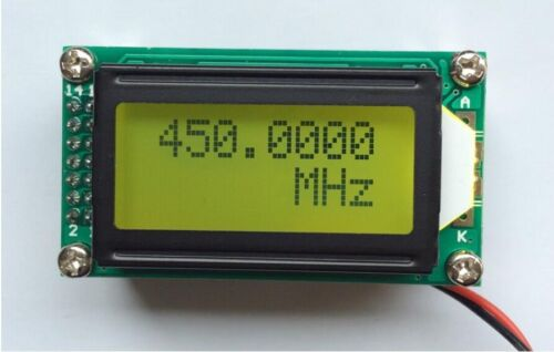 1 MHz ~ 1.2 GHz PLJ-0802-A frequency meter frequency measurement 1pc
