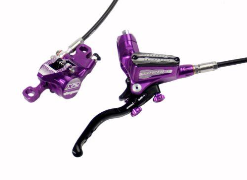 Hope Tech 3 X2 Purple Right Rear with Black Hose Brake Brand New