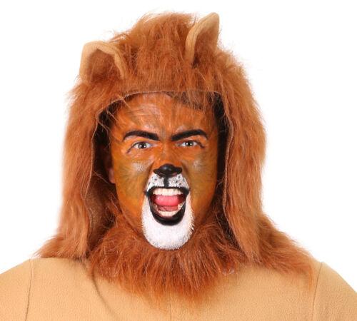 LION MANE HEADPIECE ANIMAL COSTUME WORLD BOOK DAY KING OF JUNGLE FANCY DRESS
