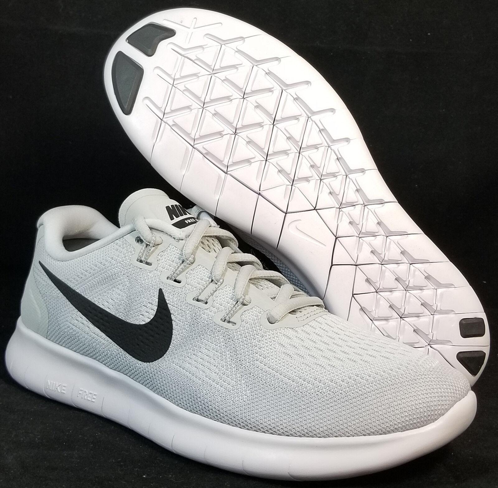 Nuevo En Caja Nike de mujer libre Pure rn 2018 880840 101 Pure libre Platinum Correr Informales Zapatos 100 505374