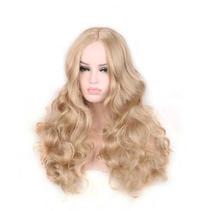 Sissy blonde curly messy