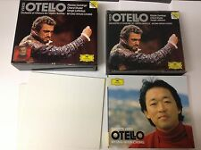 Verdi: Otello (2CDs) (1994) 2 CD SET W BKLET NR MINT