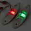 12V Marine Boot LED Seitenbogenlicht rote und grüne LED-Anzeige Navigationslicht