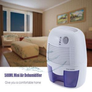 500ML-Air-Dehumidifier-Portable-Dryer-Damp-Mould-Bedroom-Bathroom-Kitchen-Garage
