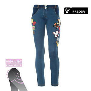 Wr Col y Pach Freddy Con Jeans Scuro Wrup1rj07e J0 Fit Donna up Skinny Denim dPSvqw8P