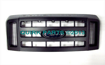 2008-2010 Ford Super Duty XL Front Black Radiator Grille OEM BRAND NEW Genuine