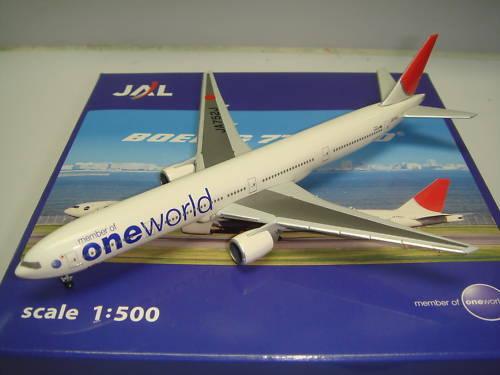 marcas en línea venta barata Hogan 500 Japan Airlines JAL B777-300  One World World World  1 500 NG  orden ahora con gran descuento y entrega gratuita