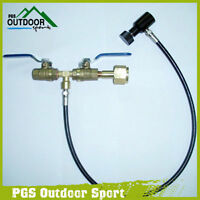 Paintball Deluxe Dual Valve Co2 Fill Station Free Shipping