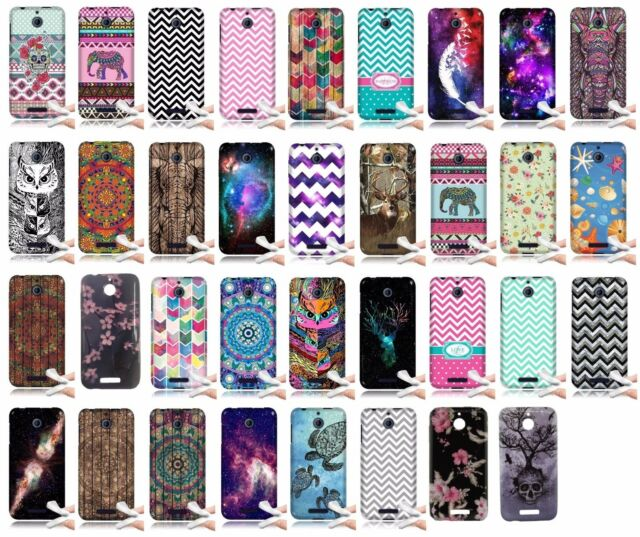 For HTC Desire 510 Design TPU Rubber Gel Soft Skin Cover Phone Protector Case