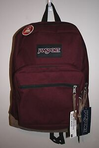 49265d2e68 JANSPORT RIGHT PACK RUSSET RED BACKPACK 100% AUTHENTIC MSRP  60- NEW ...