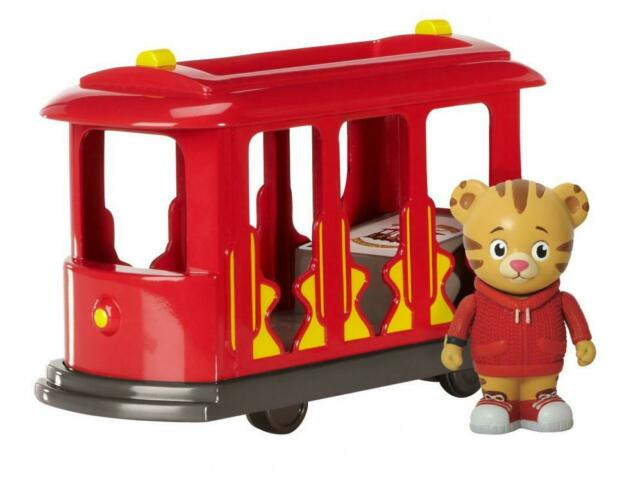 Daniel Tiger's Neighborhood Trolley Tiger Figure Birthday Party Game toy gift