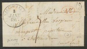 1844-Lettre-CAD-Vaucouleurs-T12-1D-rural-rouge-Boite-rurale-C-Maxey-TB-P830